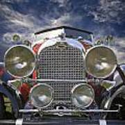1928 Auburn Model 8-88 Speedster Art Print