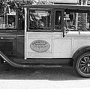 1928 Chevy Half Ton Pick Up In Black And White Art Print