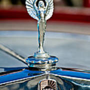 1928 Nash Coupe Hood Ornament 2 Art Print