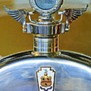 1928 Pierce-arrow Hood Ornament Art Print