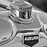 1929 Auburn 8-90 Speedster Hood Ornament 2 Art Print by Jill Reger