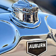 1929 Auburn 8-90 Speedster Hood Ornament Art Print