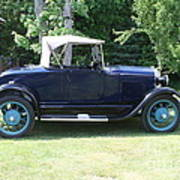 1929 Model-a Roadster 4 Art Print