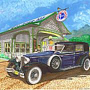 1930 Cord L Towncar Art Print