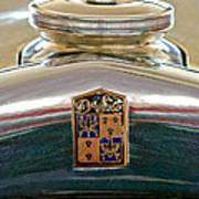 1930 Desoto K Hood Ornament Emblem Art Print