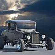 1930 Ford Hiboy Coupe Art Print