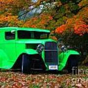 1930 Ford Sedan Delivery Truck  Art Print