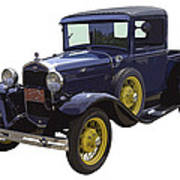 1930 - Model A Ford - Pickup Truck Art Print