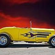 1930 Model A Roadster IIi Art Print