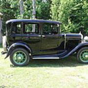 1930 Model-a Town Car 1 Art Print