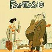 1931 - Fantasio French Magazine Cover - September - Color Art Print