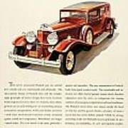 1931 - Packard - Advertisement - Color Art Print