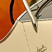 1931 Alfa Romeo 6c 1750 Gran Sport Aprile Spider Corsa Steering Wheel Art Print