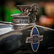 1931 Chevrolet Emblem Art Print