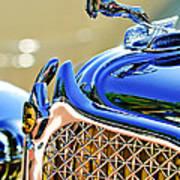 1931 Chrysler Cg Imperial Dual Cowl Phaeton Hood Ornament - Grille Art Print