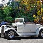 1931 Ford 'model A' Roadster Art Print