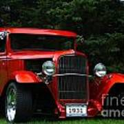 1931 Ford Panel Delivery Truck  Art Print