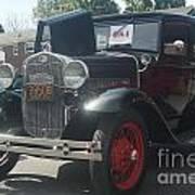 1931 Ford Sedan Art Print