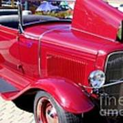 1931 Ford With Rumble Seat Art Print