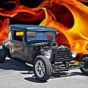 1930 Hudson Coupe I Art Print