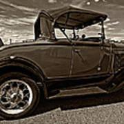 1931 Model T Ford Monochrome Art Print by Steve Harrington