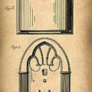 1931 Philco Radio Patent Art Print