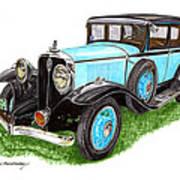 1931 Studebaker President Art Print