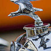 1932 Alvis Hood Ornament 2 Art Print