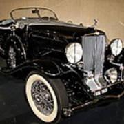 1932 Auburn Boattail Speedster Art Print