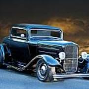 1932 Deuce Coupe Art Print