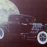 1932 Ford Coupe-harvest Moon Coupe Art Print