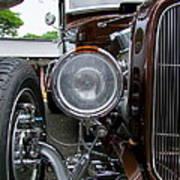 1932 Ford Roadster Head Lamp View Art Print
