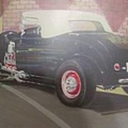 1932 Ford Roaster At Deuce's Saloon Art Print