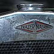 1932 Frazer Nash Tt Radiator Badge Art Print