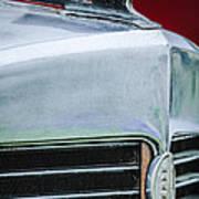 1932 Marmon Sixteen Lebaron Victoria Coupe Hood Ornament - Grille Emblem - 1904c Art Print