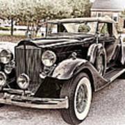 1932 Packard 903 Victoria Art Print