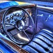1932 Packard V12 Convertible Coupe-roadster V2 Art Print