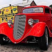 1933 Ford Coupe Art Print