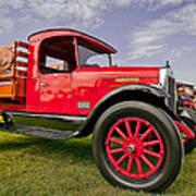 1933 International Truck Art Print