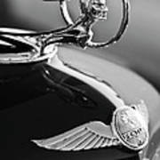 1933 Pontiac Hood Ornament 4 Art Print