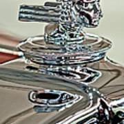 1933 Stutz Dv-32 Dual Cowl Phaeton Hood Ornament 2 Art Print