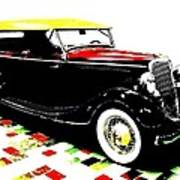 1934 Ford Phaeton V8  Art Print