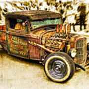 1934 Ford Rusty Rod Print by motography aka Phil Clark