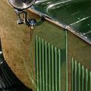 1934 Green Rolls Art Print
