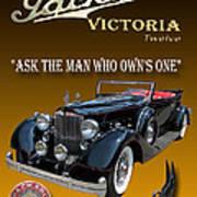1934 Packard Art Print