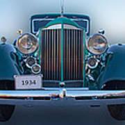 1934 Packard Super 8 Art Print