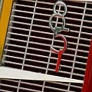 1935 Auburn 851 Cabriolet Grille Emblem Art Print