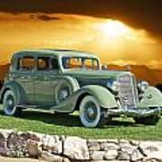 1935 Buick 61 Sedan Art Print