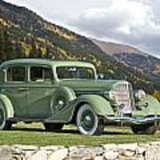 1935 Buick Club Sedan Art Print