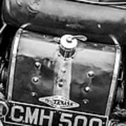 1935 Frazer Nash Tt Replica Shelsley -0223bw Art Print